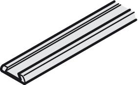 profil de support pour joint brosse pour portes coulissantes dans la boutique h fele belgique. Black Bedroom Furniture Sets. Home Design Ideas