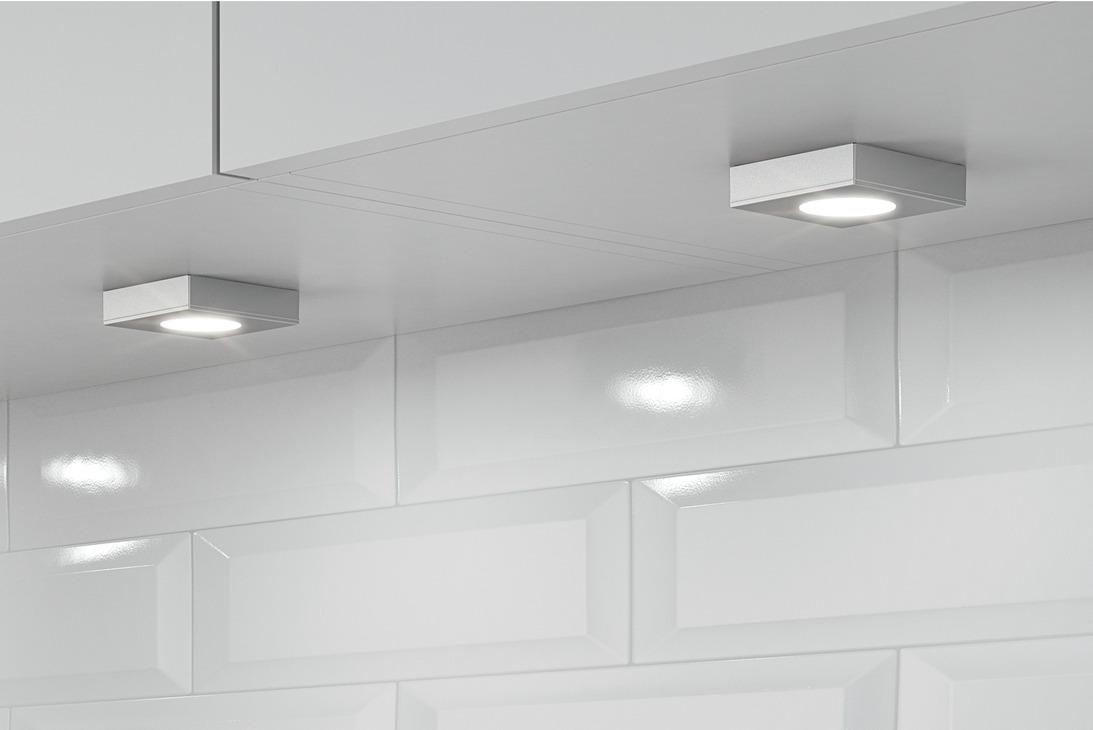 luminaire encastrer montage en applique modulaire h fele loox led 2026 aluminium 12 v. Black Bedroom Furniture Sets. Home Design Ideas