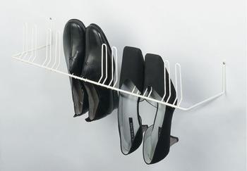 Schoenenrek Voor Aan De Wand.Schoenenrek Om Aan De Wand Te Schroeven Voor 4 Of 6 Paar